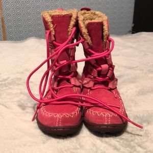 Little Girls (baby size)  Timberland Boots